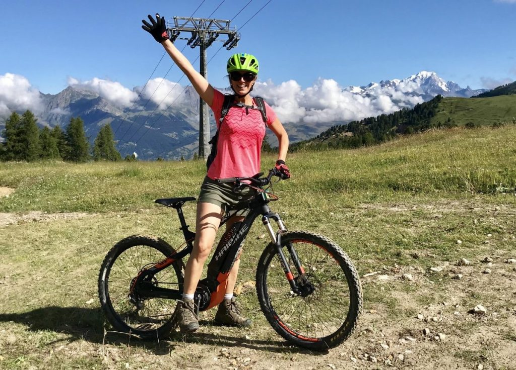 Mountainbike La Plagne