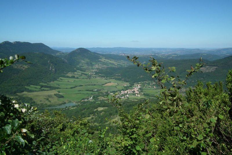Uitzicht vanaf de Bugarach