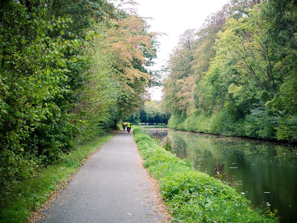 Wallonië fietstocht kanalen jaagpaden