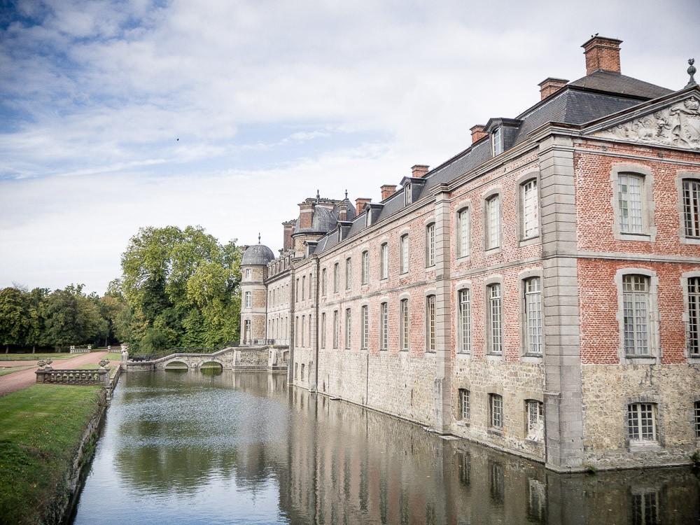 Fietstocht Wallonie Chateau de Beloeil