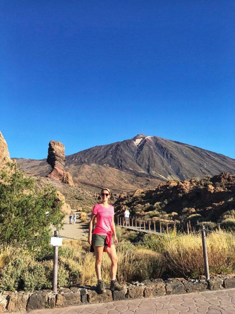 Verplichte kost: dé toeristische foto voordat we starten met onze hike