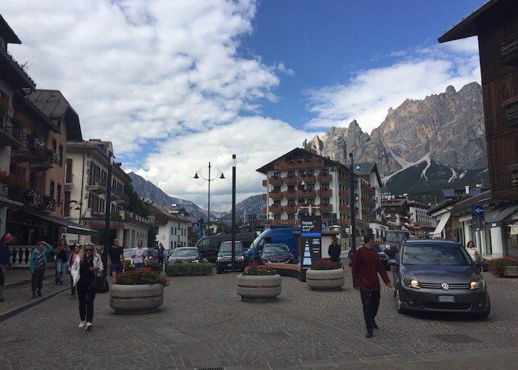 Centrum Cortina d'Ampezzo Dolomieten