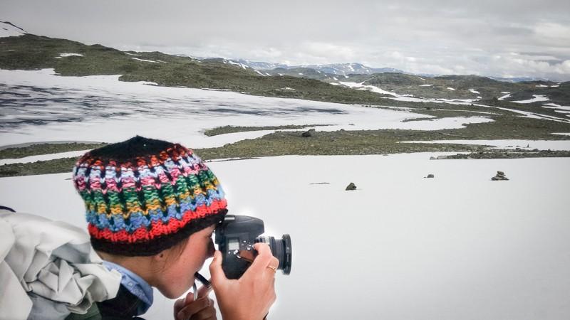 Fotograferen met koud weer: het is even aanpassen, maar dan heb je wel hele toffe plaatjes. Foto: Antoine de Schipper