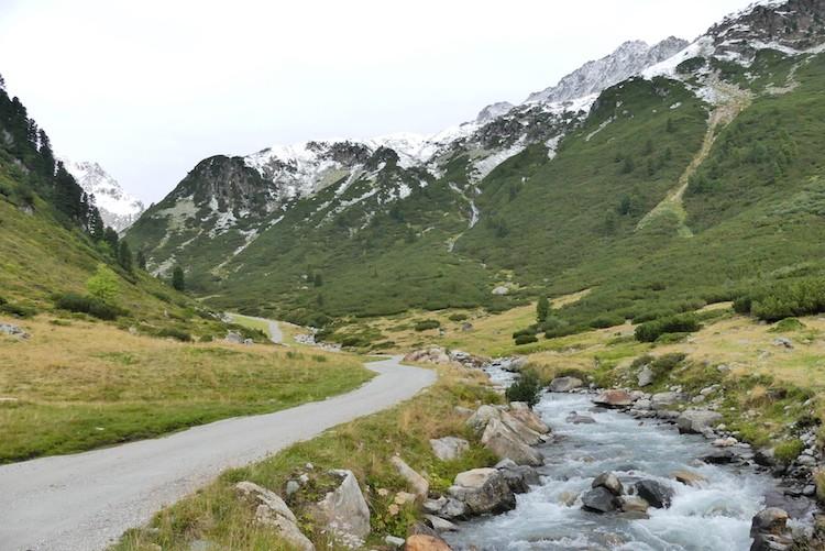Wandeling Mutterbergersee in Stubaital