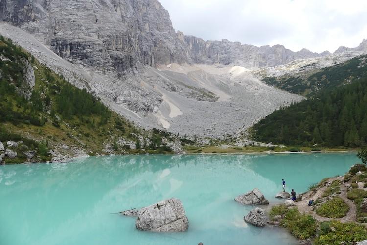 Lago di Sorapis Dolomieten