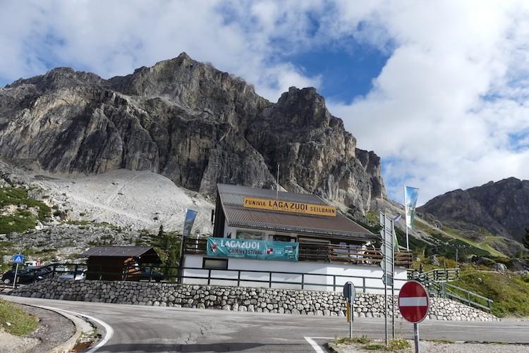 Kabelbaan Passo Falzarego Lagazuoi
