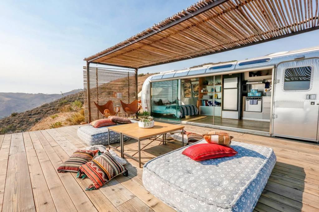 Malibu Dream Airstream. Credits: Airbnb