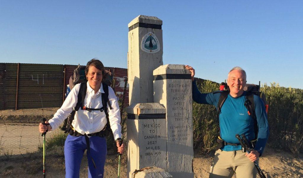 Start Pacific Crest Trail - Andre en Lian de Jel - Copyright André de Jel