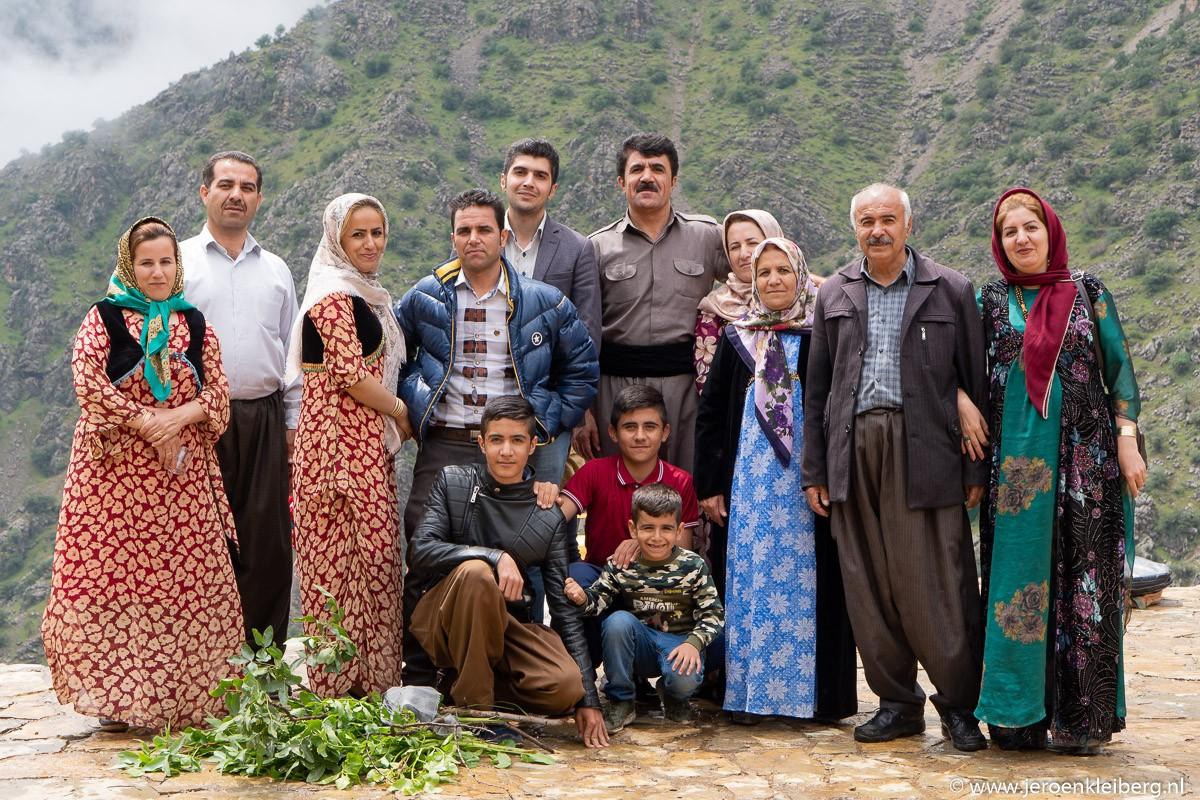 Familie Koerdistan
