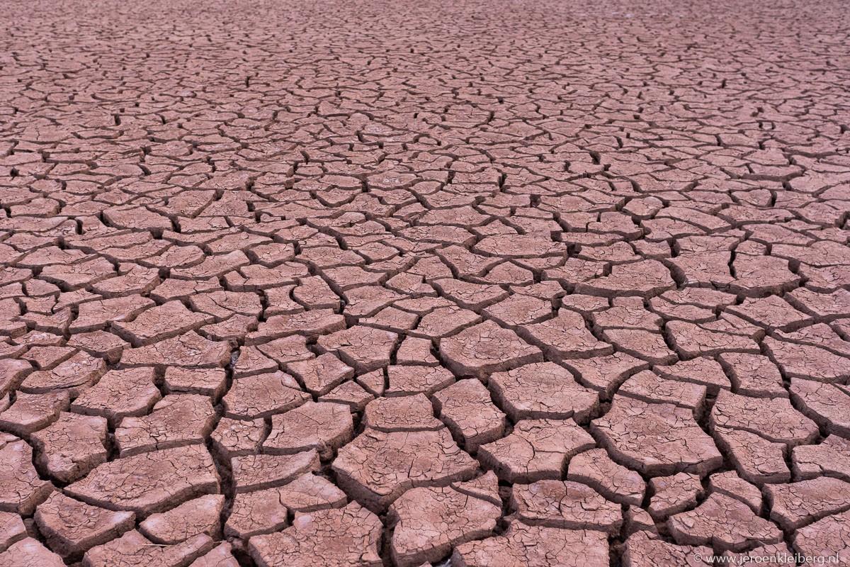 Droogte in de woestijn