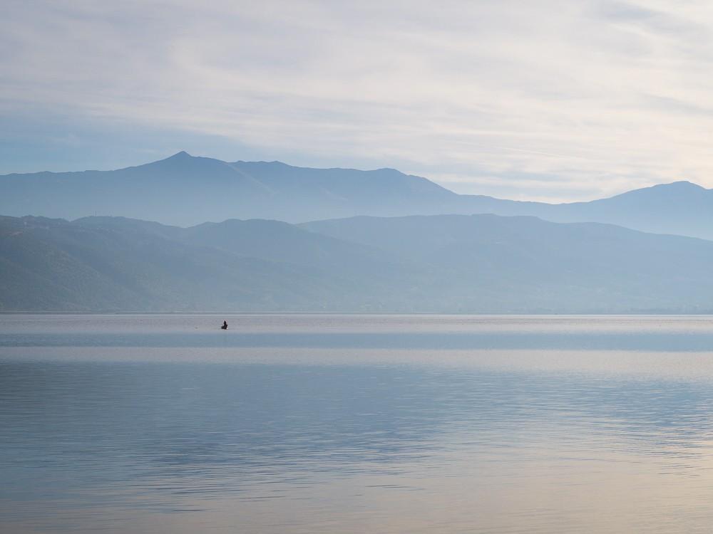 Ioannina Epirus Pamvotida meer