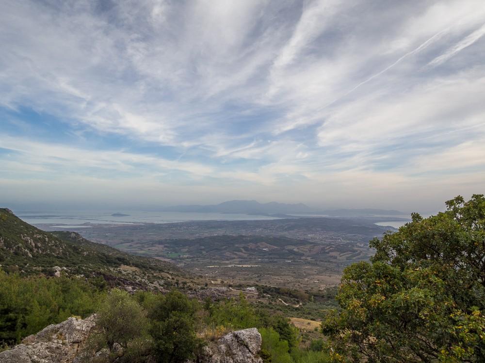Cassope Epirus uitzicht