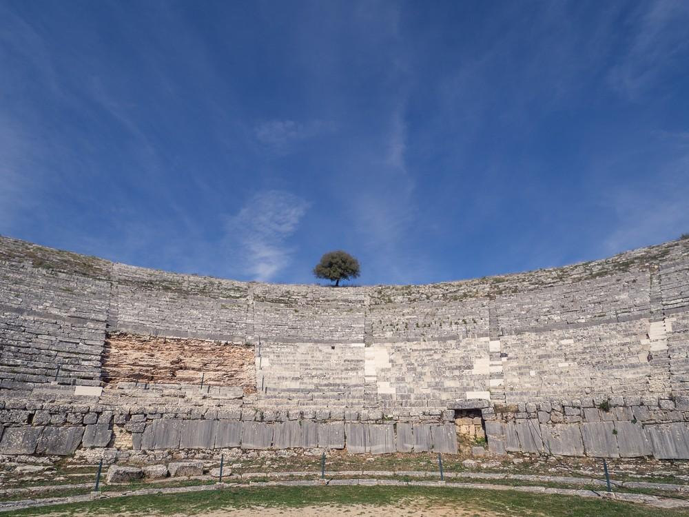 Epirus theater Dodona