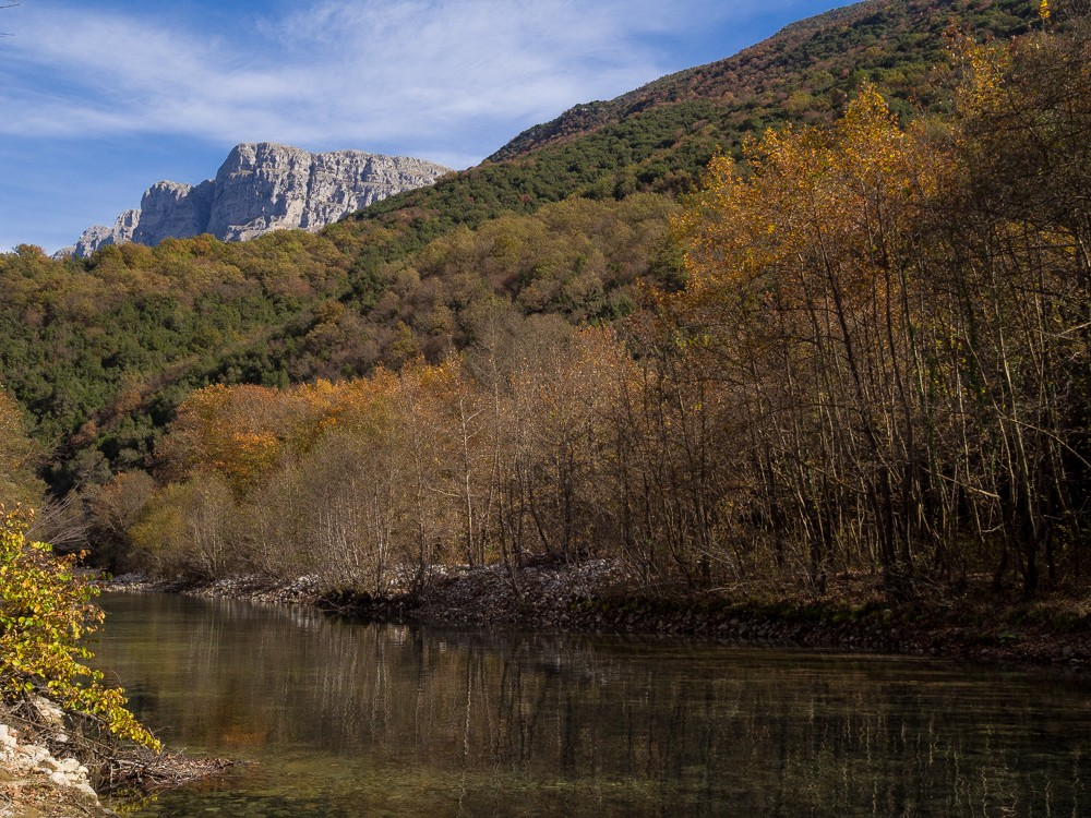 Epirus Zagori rivier