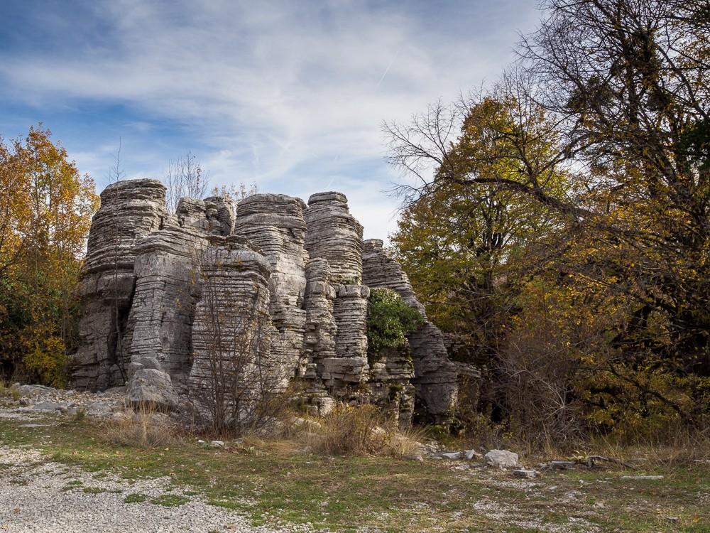 Vikos Zagori stenen bos