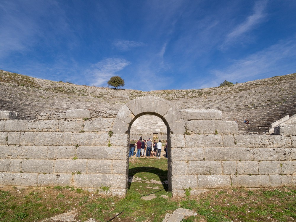 Dodoni theater Epirus