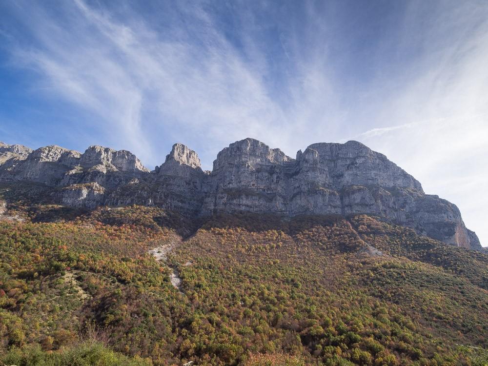 Zagori bergen