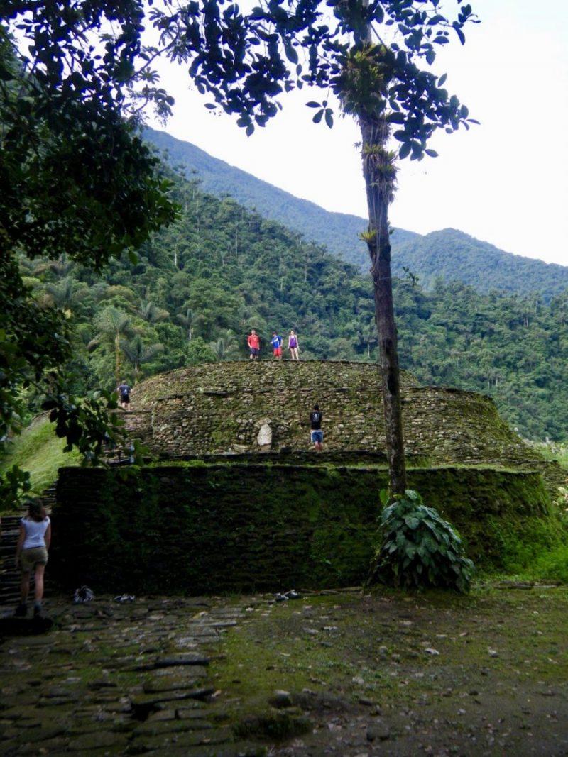 De overblijfselen van La Ciudad Perdida