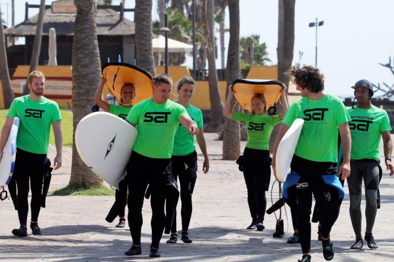 Let's go surfin'! Foto: Joaquin Adan / SportClub Tenerife