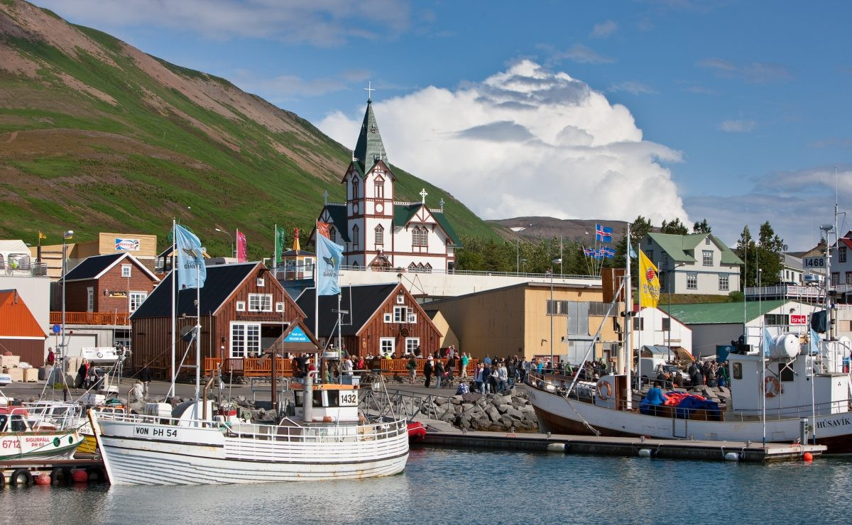 Husavik op IJsland