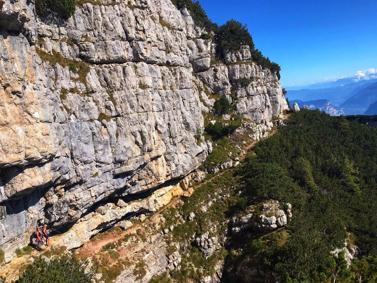 Hiken naar de Sentiero delle Aquila