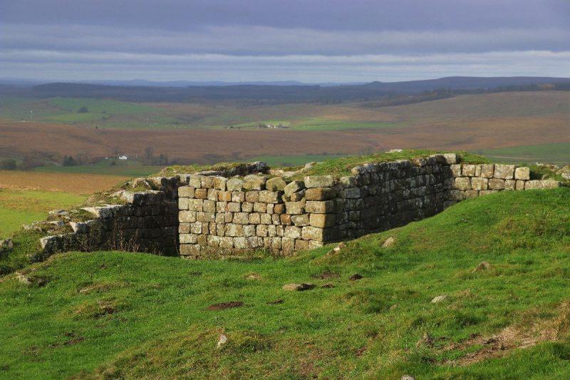 De Hadrian's Wall wandelen