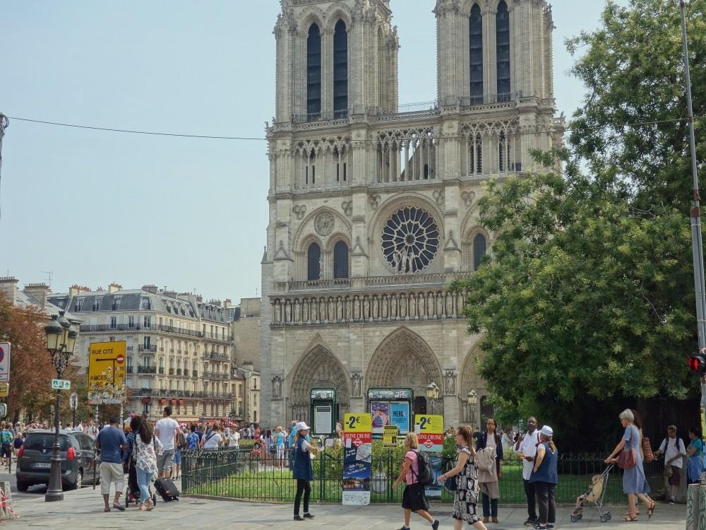De Notre Dame kathedraal.