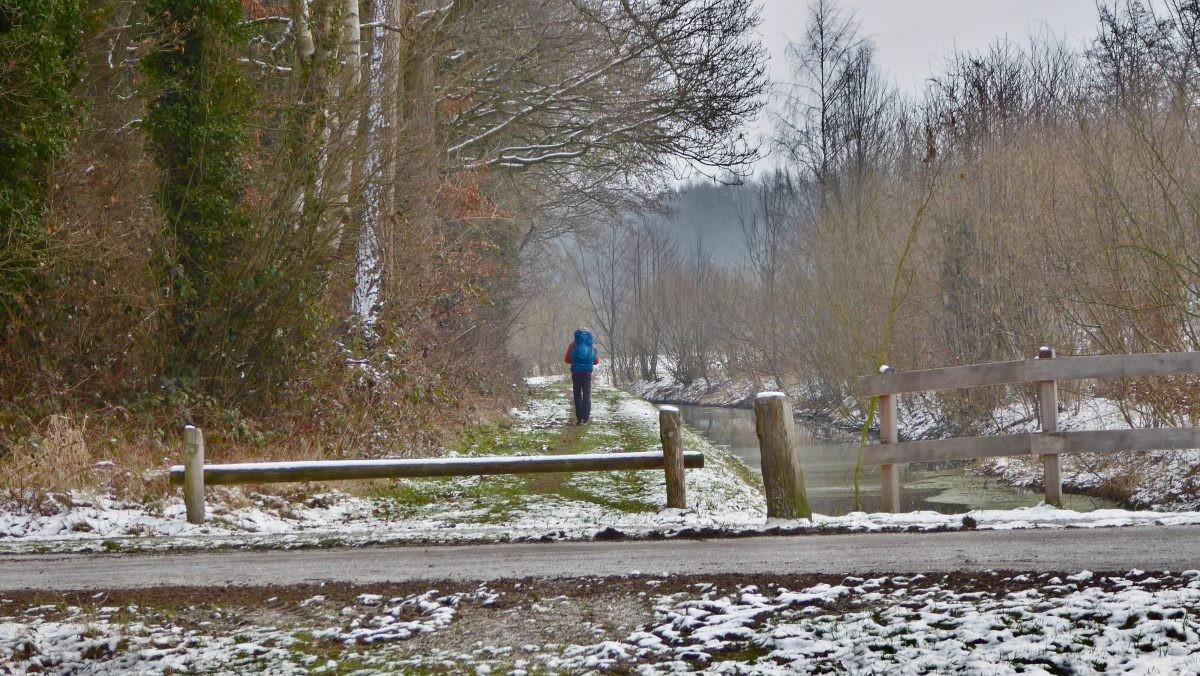 Langs het kanaal op het Twentepad. Foto: Eigen collectie, Bart Baars - the7in7.nl