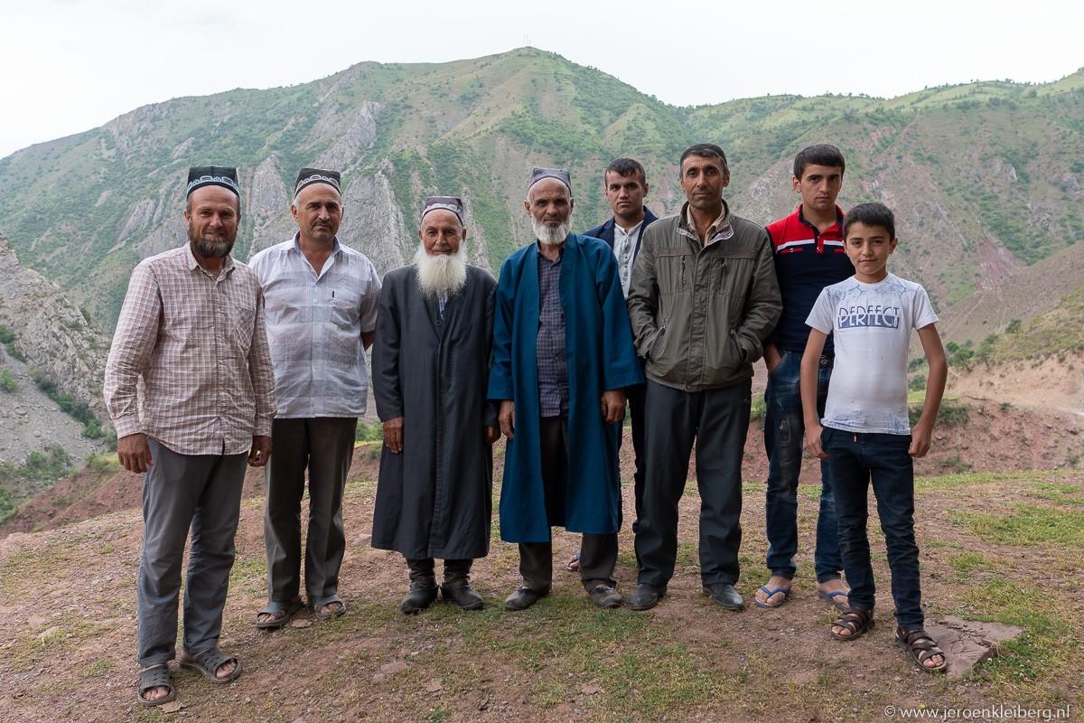 Groepsportret Tadzjieken