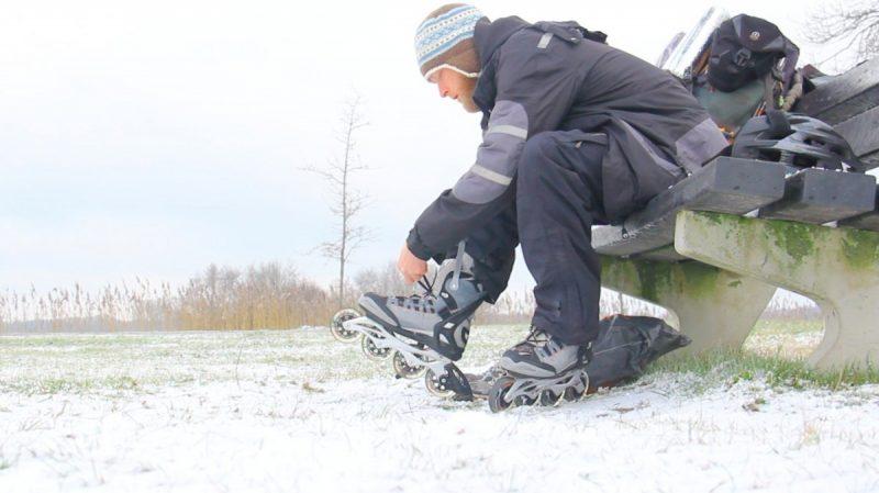 Skatepacking in Nederland