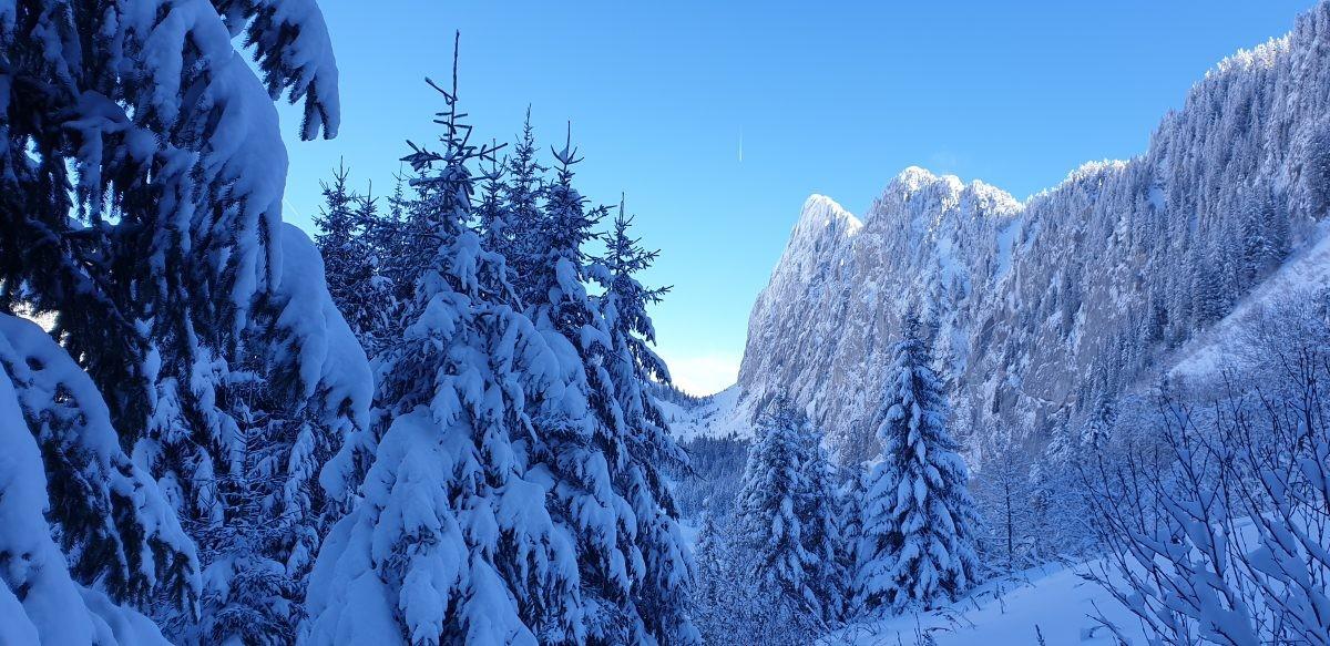 Uitzicht op Mont Chauffė vanaf de sleutelpassage. Foto: Sietske Mensing