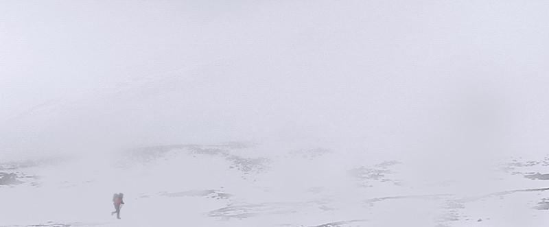André in de sneeuw © André de Jel