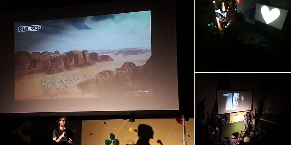 Reel Rock Film Tour Festival klimhal Neoliet Utrecht presentatie