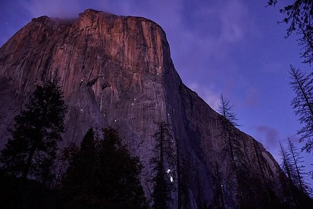 El Capitan Yosemite Free Solo