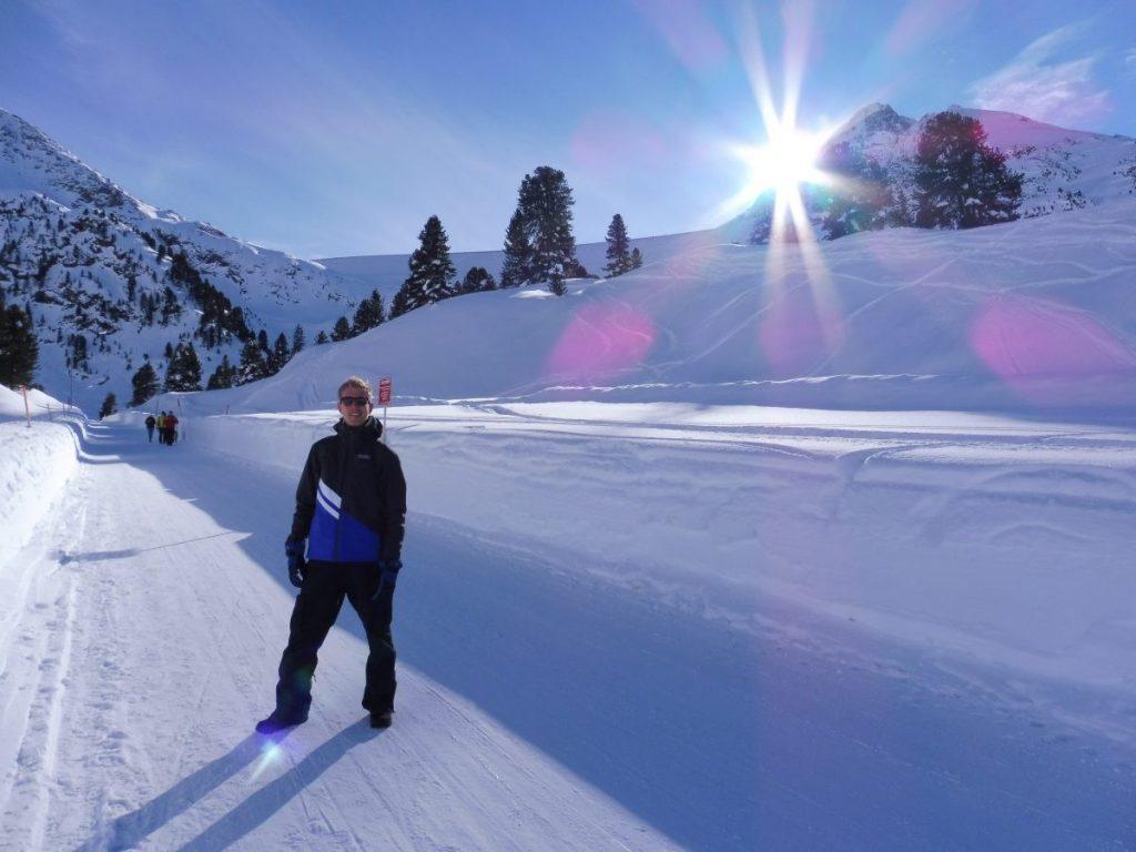 Winterwandelen in het Oostenrijkse Innsbruck