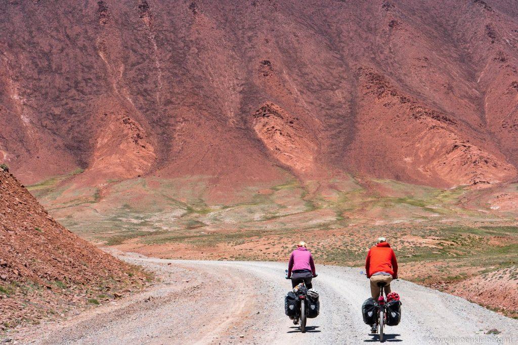 Fietsers Pamir Highway