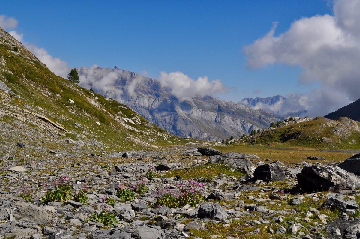 Prachtige landschappen tijdens de Tour des Muverans.