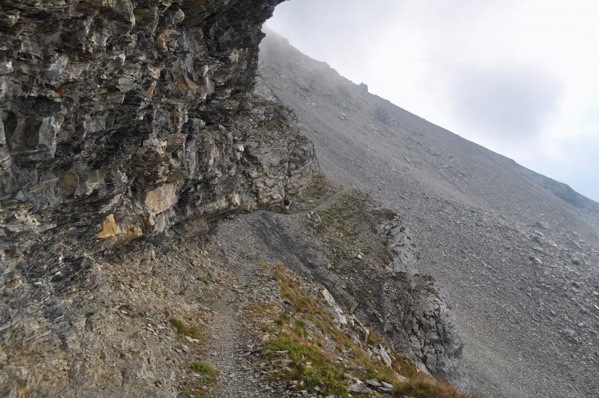 De Tour des Muverans is minder geschikt voor mensen met hoogtevrees.