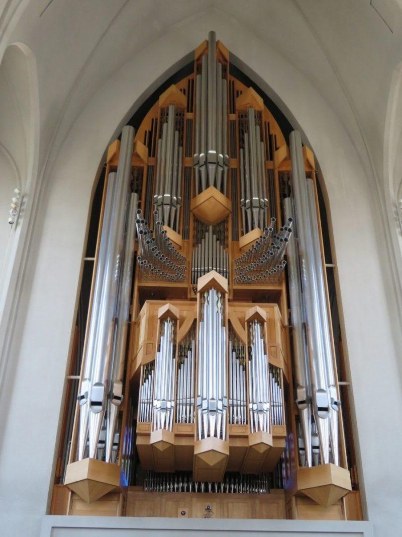 Orgel Hallgrimskirkja