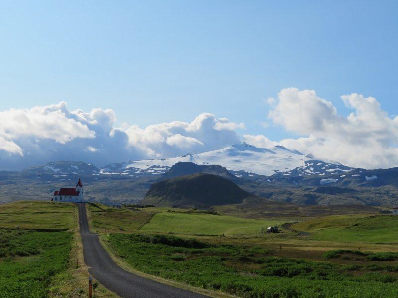 Snæfellsjökull gletsjer