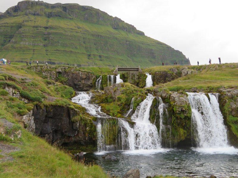 Waterval bij Kirkjufell