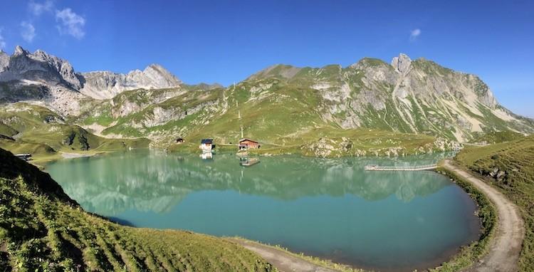 Zürser See bij Lech
