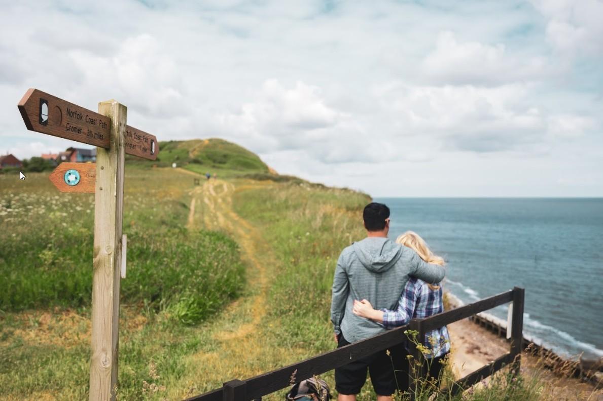 Norfolk Coast Path: 135 kilometer trail langs de kust