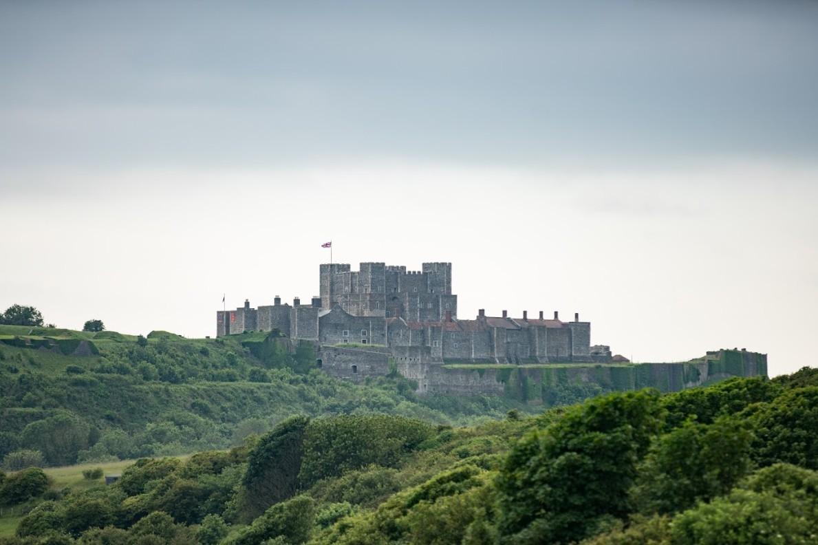 Eén van de acht kastelen langs de North Downs Way