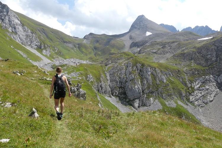 En weer dalen naar Lech.