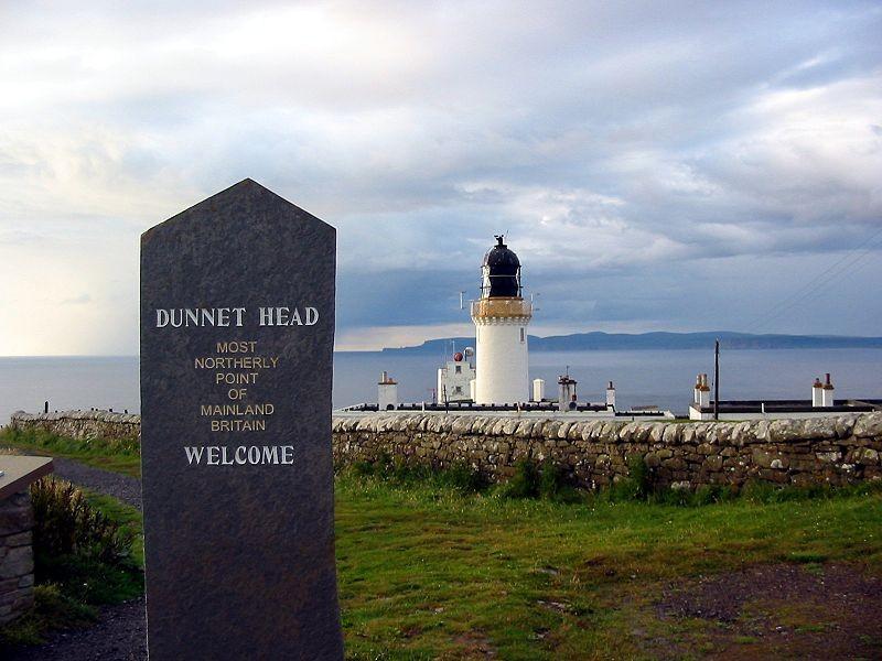 Dunnet Head, het noordelijkste puntje
