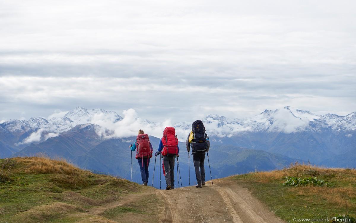 Wandelaar kaukasus georgie