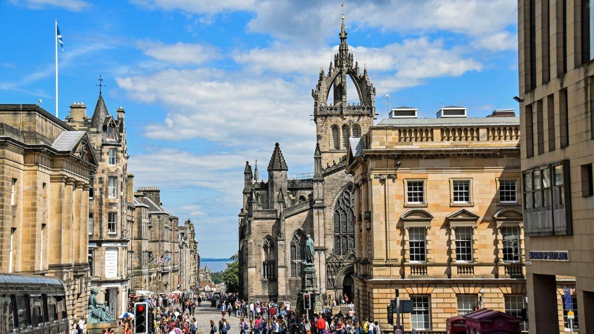 Edinburgh, verplichte stop!