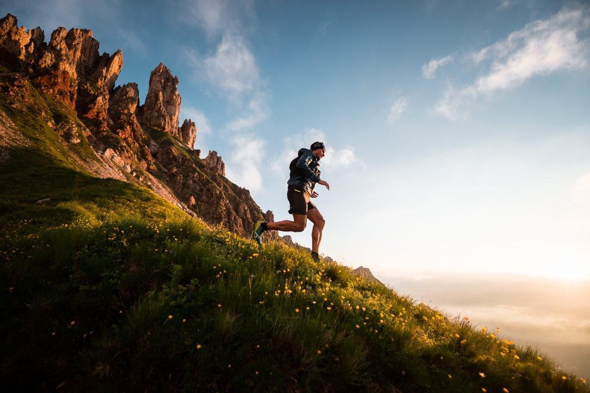 Ook geschikt voor andere sporten zoals trailrunning (foto: Seiser Alm Marketing/F-Tech)