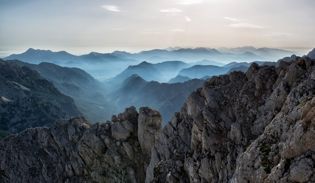 Alpen vanaf de Italiaanse kant